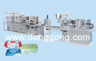 DH-12N full-automatic high-speed wet wipe tissue machine