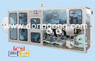 DH-MW25-1 Full auto wet tissue folding and packing machine(3-30)