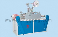DH-T400-800 Punching & labeling and rewinding machine